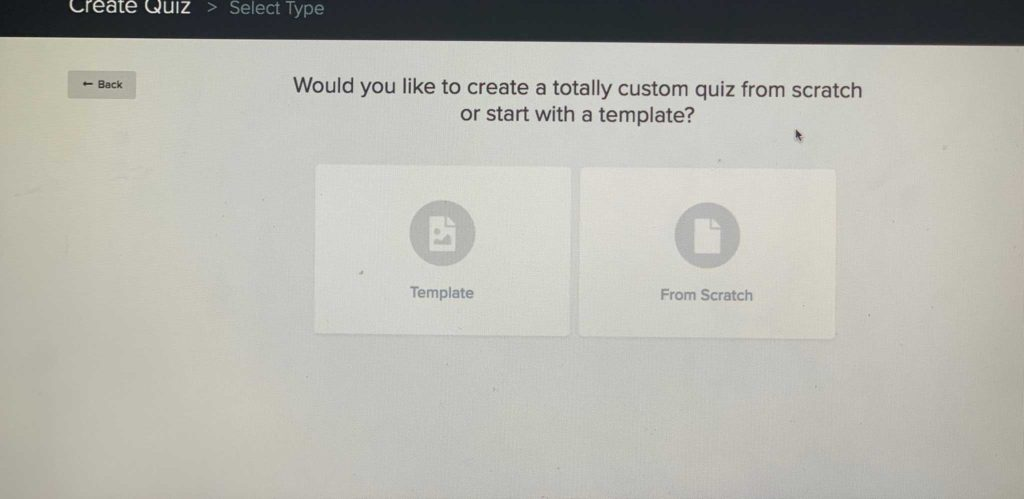 How to setup a quiz using interact