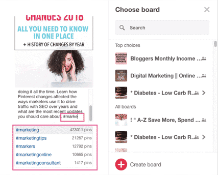 how to find hashtags to use on pinterest for viral pins