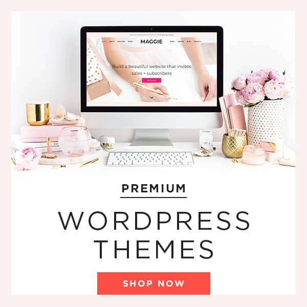 promote your blog with a beautiful website
