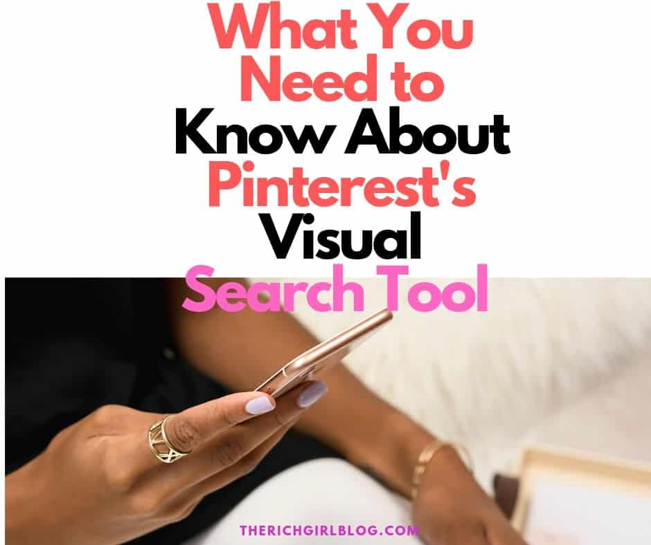 how to use the visual search