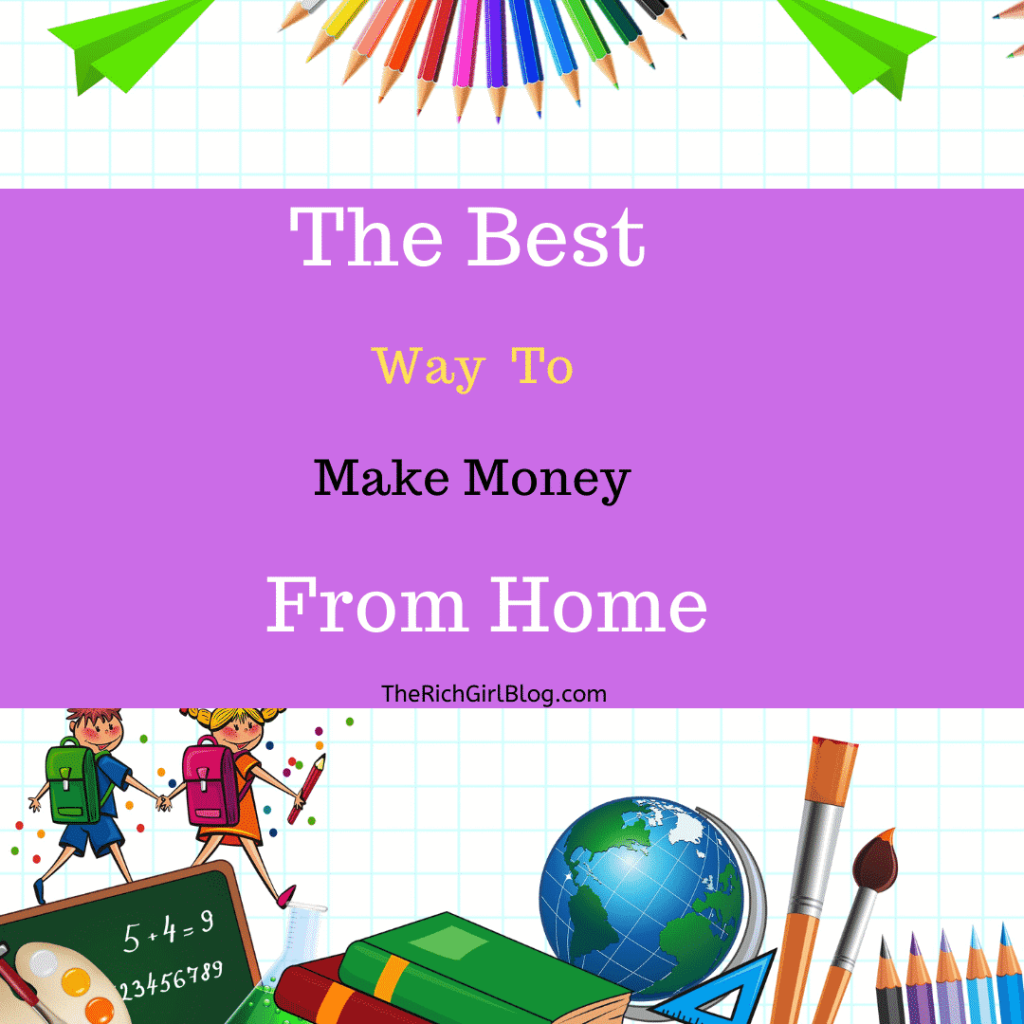 The Best Way to Make Money From Home By Teaching