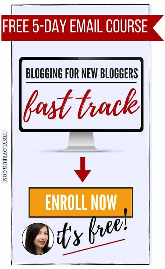 Free Blogging course for new bloggers.