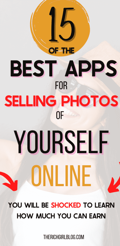 15 best apps for selling photos of yourself online