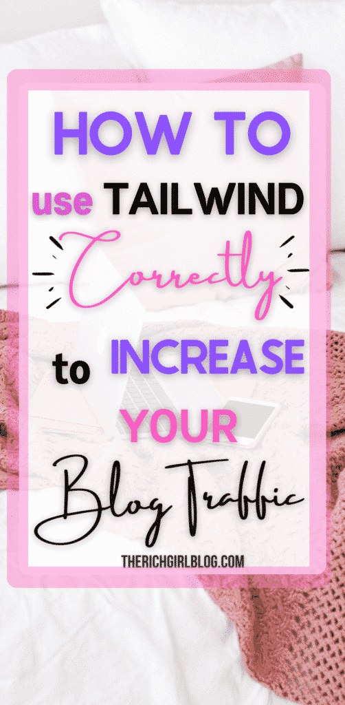how to use tailwind for more visitors to your new blog.