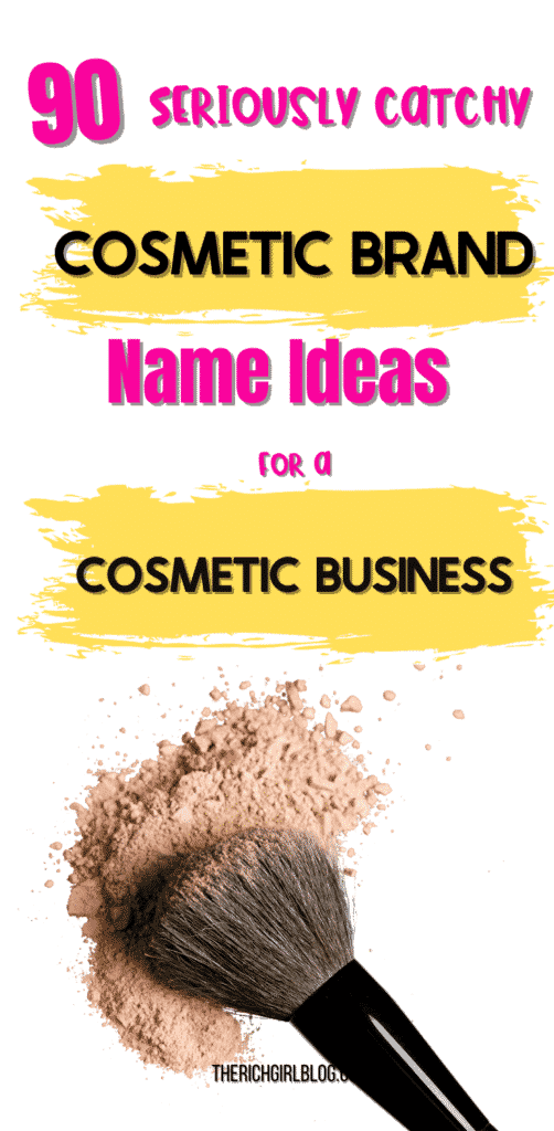 cosmetic brand name