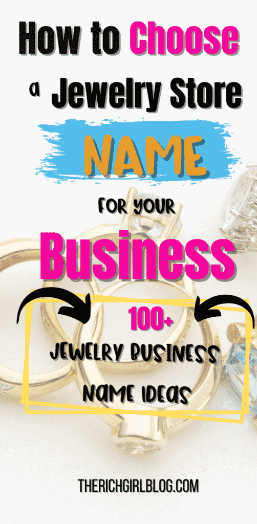 jewelry store name ideas