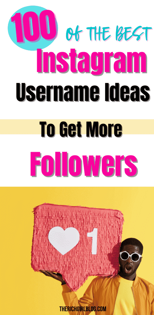 Instagram usernames to get followers