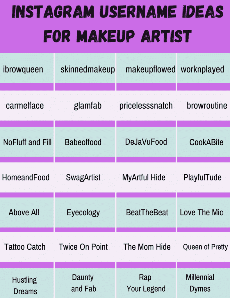 Makeup artist name ideas for those who want to know how to start a makeup line with no money